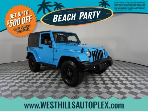 Pre-Owned 2017 Jeep Wrangler Winter