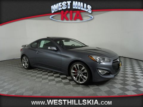 Pre-Owned 2015 Hyundai Genesis Coupe 3.8L Ultimate